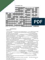 Crucigrama Del Acuerdo 592