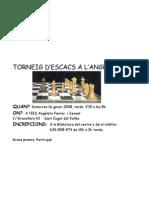 Torneig d'escacs a l'Angeleta