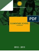 ES Student Handbook 2012-13