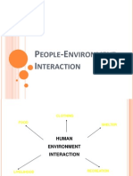 People Environment Interaction