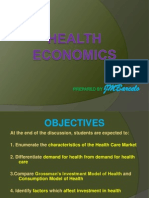 Primer to Health Economics