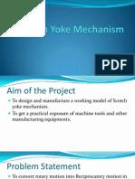 Scotch Yoke Mechanism