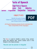 1. the Parts of Speech