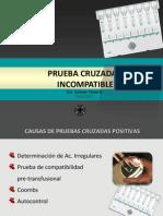 Curso Básico 2011 - Prueba Cruzada Incompatible