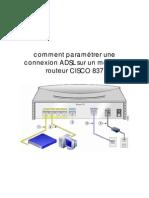 comment paramétrer une connexion ADSL sur un modem  CISCO