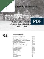 10 Jahre ehrenamtliche Arbeit des Vereins AKuBiZ e.V.
