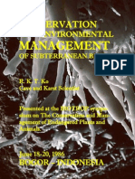 CONSERVATION AND ENVIRONMENTAL MANAGEMENT OF SUBTERRANEAN BIOTA