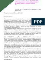 Bozza Testo DDL 3390 Femminicidio