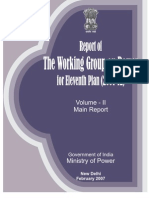 Working Group Report on Power for 11th 5 Yr Plan