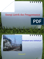 Energi Listrik Dan Penggunaannya