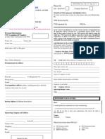 TWI Enrolment Form -Thailand