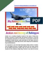 Arakan Real History of Rohingyas Anam2012