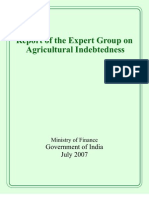 Report of Experts Committee on Agricultural Indebtedness