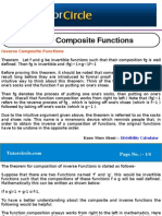 Inverse Composite Functions