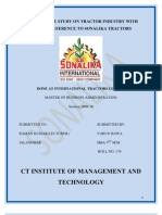 35235176 a Project Report on Sonalika