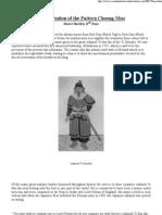 Interpretation of the Pattern Choong-Moo