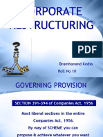 Corporate Restructing