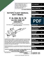 NATOPS Flight Manual FA-18A-B-C-D 161353 and up Aircraft (2000)