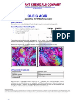 Oleic Acid - General Info