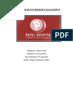 Hrm Case Study-patel