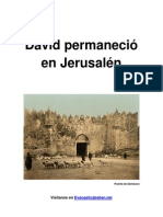 David Permaneció en Jerusalén - Miguel Sanchez