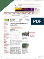 Tokyo's Entertainment Scene is a Family Affair - The Honolulu Advertiser - Hawaii's Newspaper