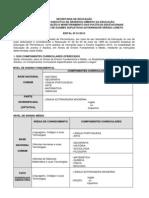 Edital Do Exame Supletivo 2012