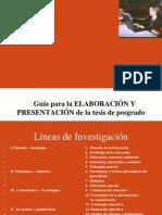 Guia de La Tesis, IUIT Para Trabajo de Invest. Uvm 1er. Hora