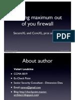 Firewall Optimization - SCRIB