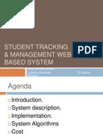 Student Tracking Managemenet Web Based System