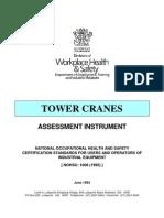 Tower Crane-Assessment Instrument