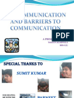 Miscommunication Final Ppt