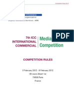ICC Mediation Moot Competition RULES