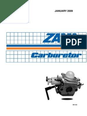 CARBURETOR REBUILD KIT REPLACES WALBRO K20-HD K25-HD K30-HD