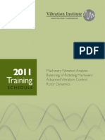 2011 Training Schedule VI