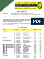 Eastbourne Rovers 10 - 2012-08-11 - Result Sheet