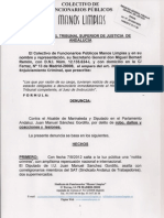 Fiscal Gral. Andalucia- Asunto Gordillo