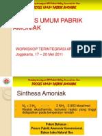 Proses Umum Amoniak