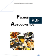 Fichas Autocontrol Comidas