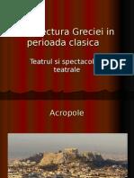 Arhitectura Greciei in Perioada Clasica
