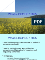 ISO17025 Requirements