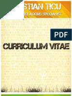 Curriculum Vitae Cristian Ticu