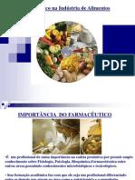 Estágio I - O farmacêutico da Indústria Alimentícia