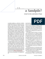 A Sandpile