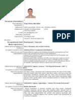 CV Paul 2012