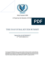KYUEM Summit 2012 Info Pack