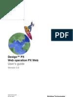 Desigo PX - CM110757en - PX Web - Manuel d'Utilisation