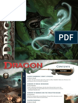 Dragon 378 | Dungeons & Dragons | D20 System