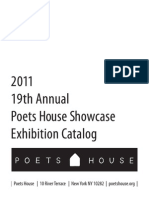 19th Annual Poets House Showcase Catalog 2011