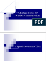 Advanced Topics for Wireless Communications